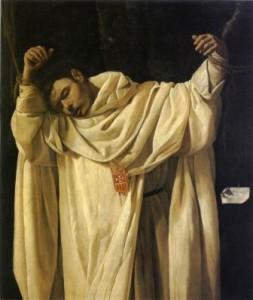 Francisco de ZurbarànSan Serapione, 1628olio su tela, cm 120 x 102