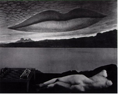 All'ora dell'osservatorio. Gli amanti (1932). Man Ray